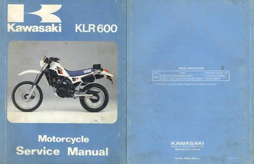 kawasaki klr 250 service manual online user manual u2022 rh pandadigital co kawasaki klx 250 service manual pdf kawasaki klx 250 service manual pdf